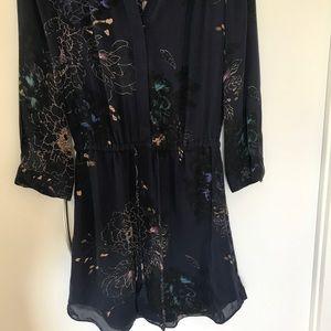 Babaton Dresses - Navy Floral Dress
